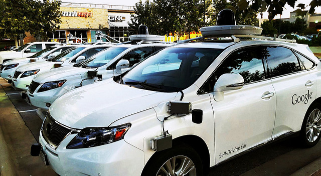 Fleet of self driving cars