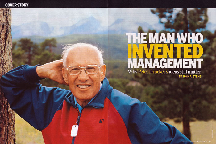 Peter Drucker on Business School